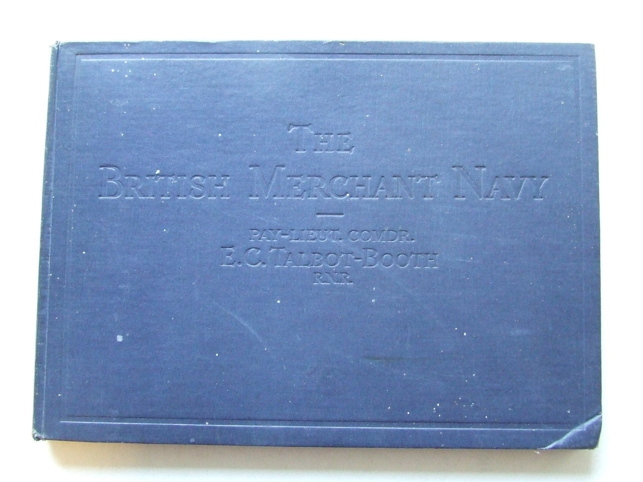 The British Merchant Navy 1937-8