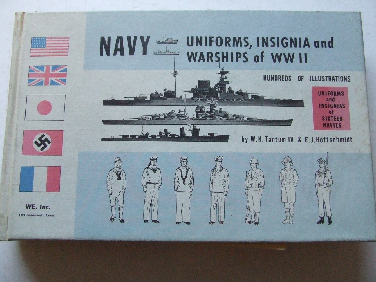 Navy Uniforms, Insignia and Warships of World War II