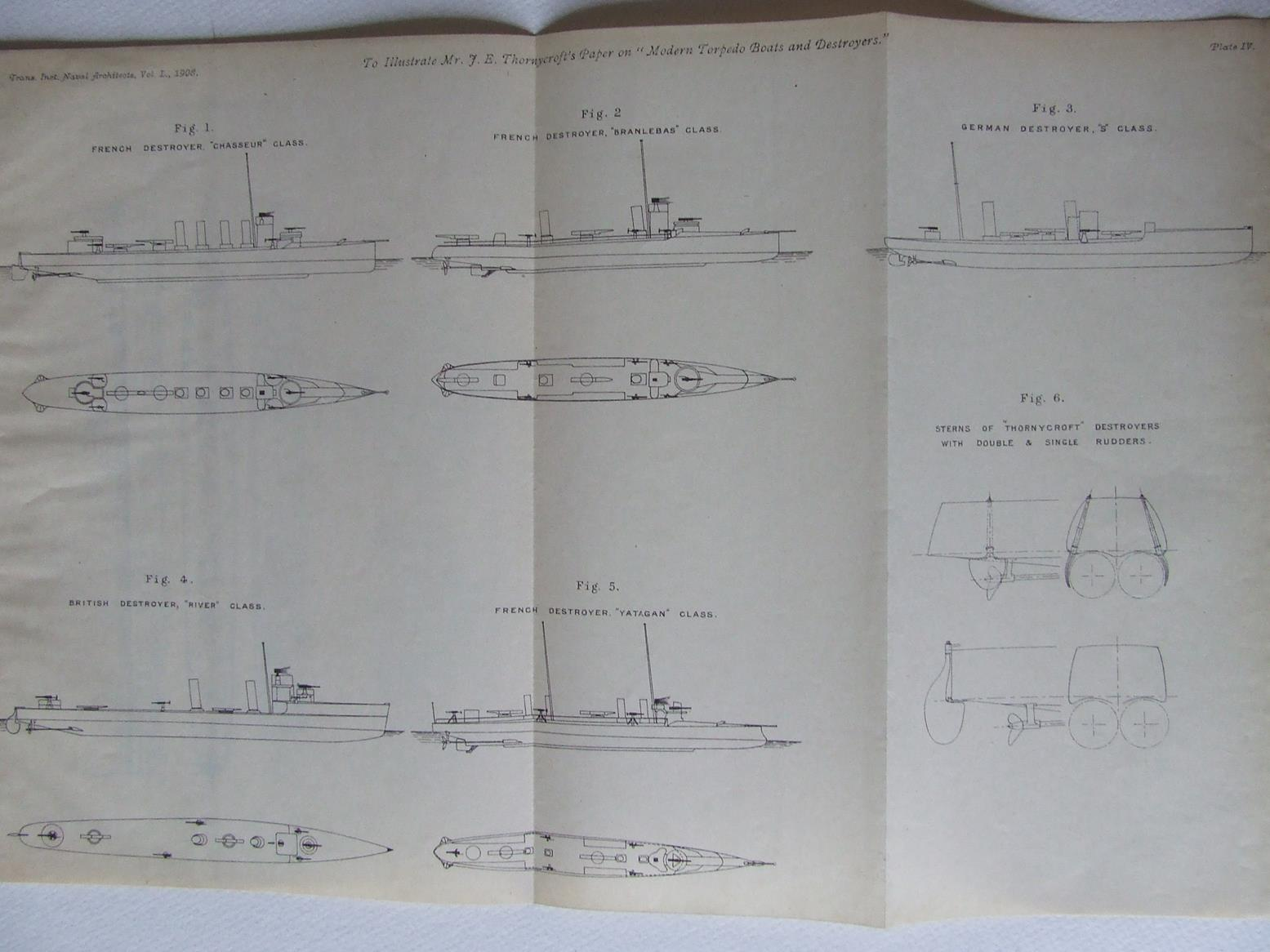 Modern Torpedo Boats and Destroyers