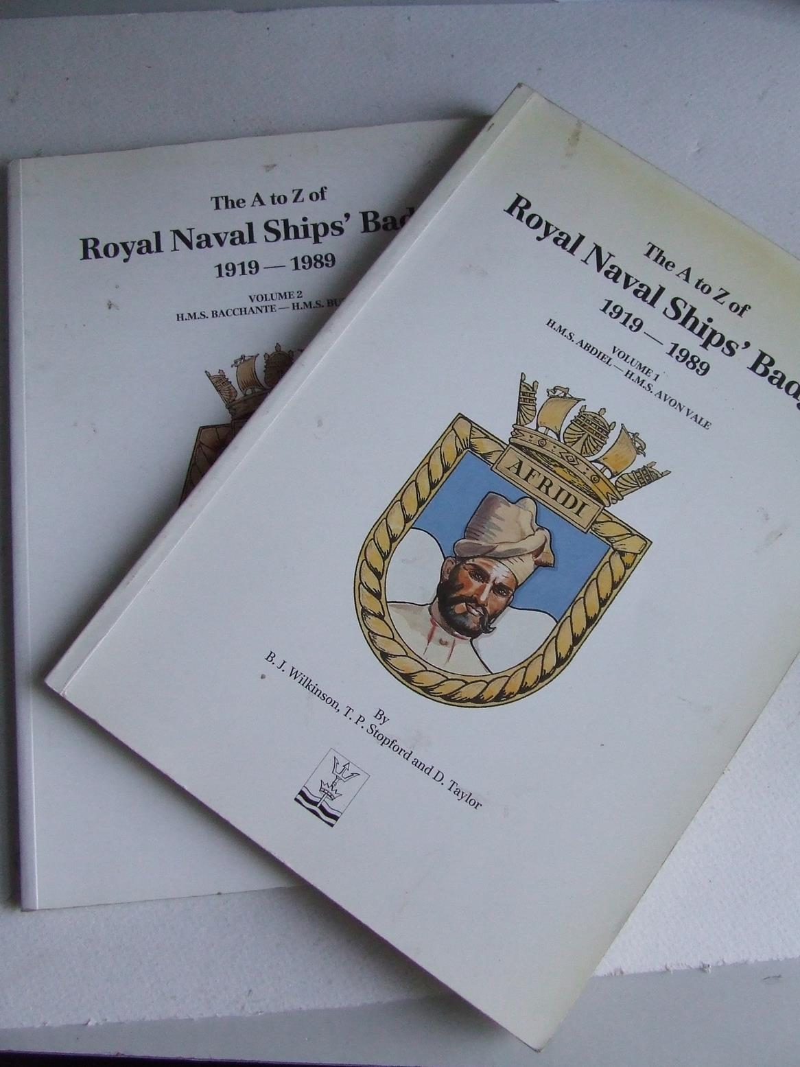 The A to Z of Royal Naval Ships' Badges 1919-1989