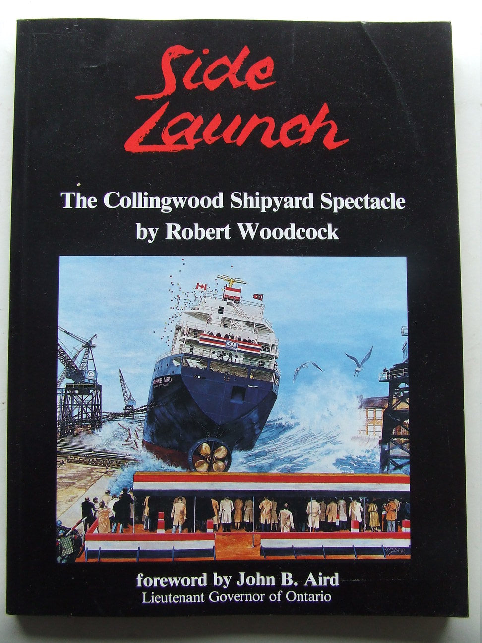 Side Launch, the Collingwood Shipyard spectacle