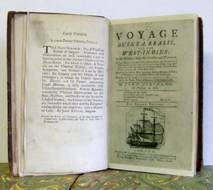 A Voyage to Guinea, Brasil, and the West Indies in His Majesty's Ships The 'Swallow' and the 'Weymouth'  -  John Atkins