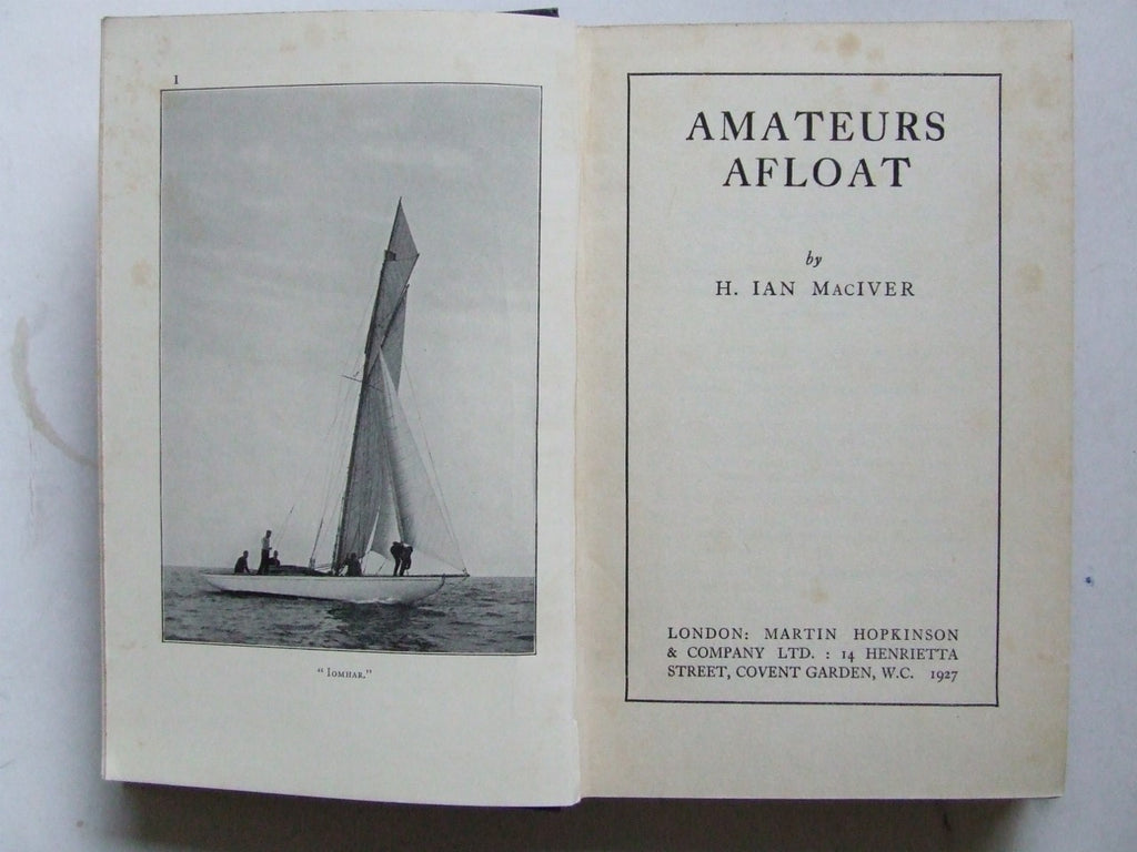 Amateurs Afloat
