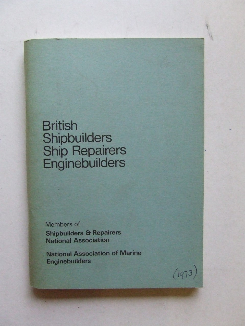 British Shipbuilders, Ship Repairers, Enginebuilders