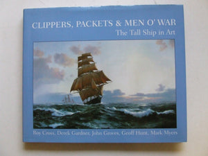 Clippers, Packets & Men O' War,  the tall ship in art