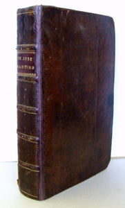De Jure Maritimo et Navali: or a Treatise of Affairs Maritime and of Commerce. in three books