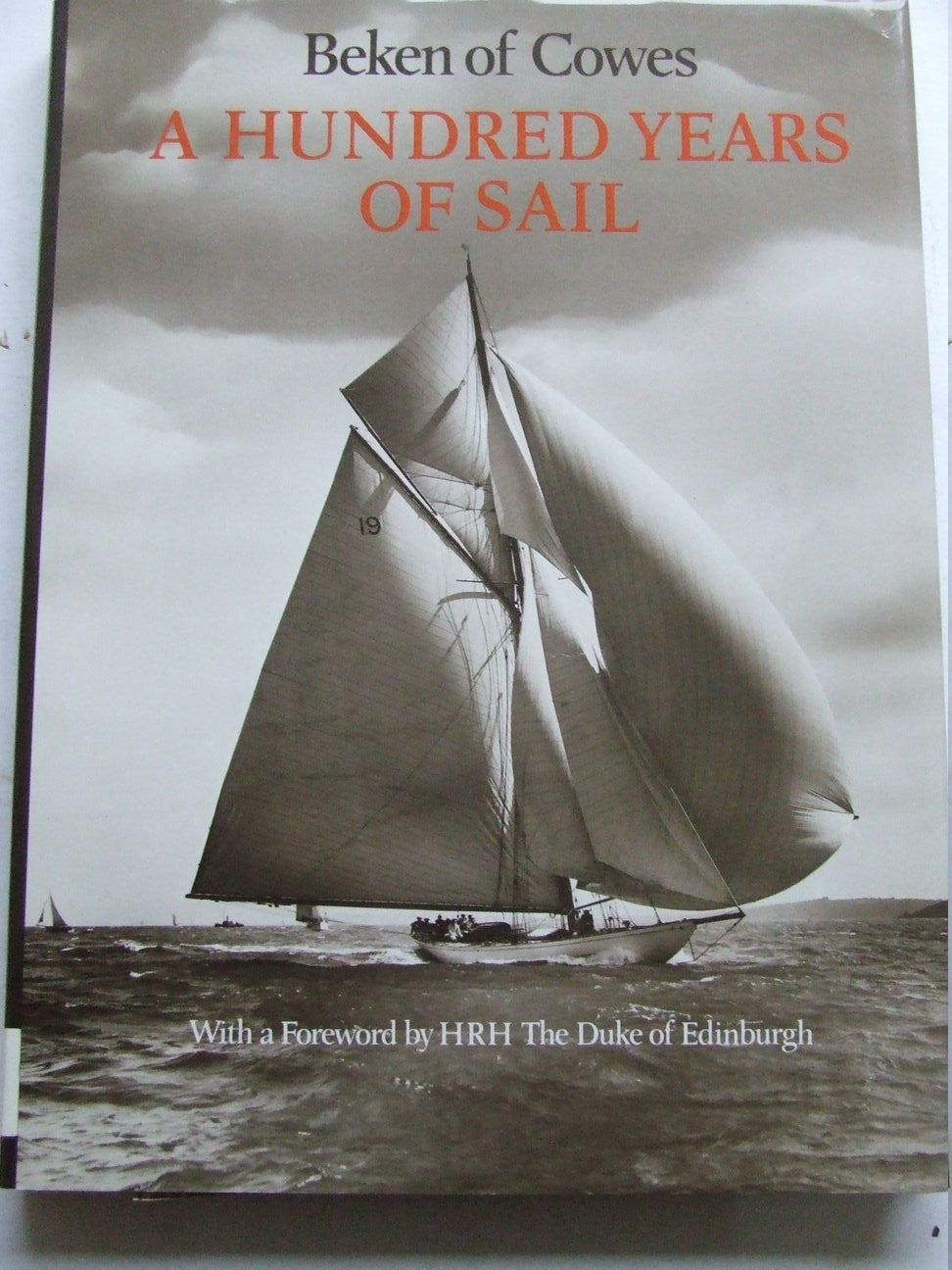 Hundred Years of Sail  -  Beken of Cowes