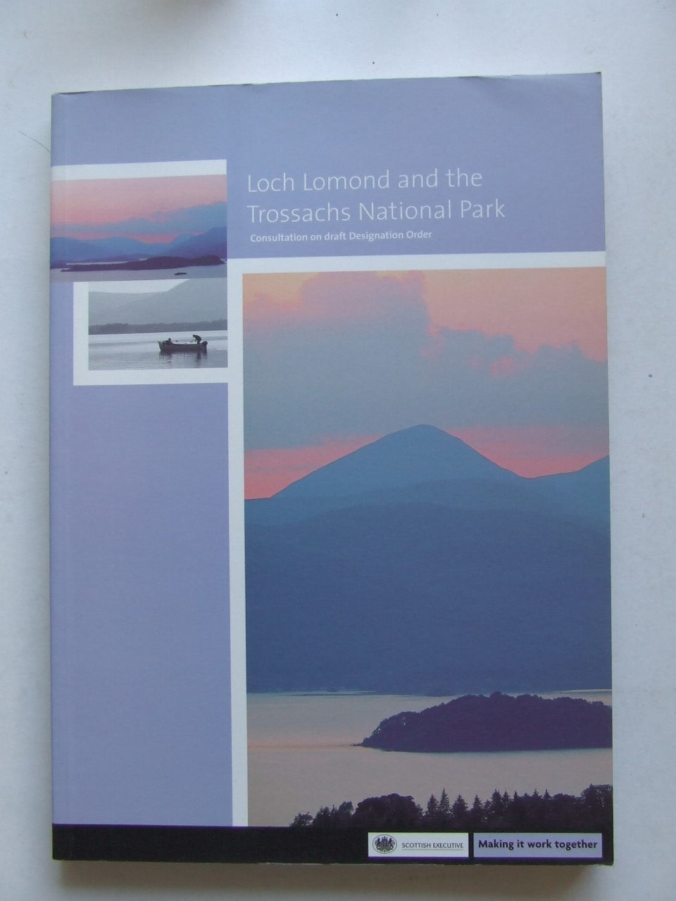 Loch Lomond and the Trossachs National Park, consultation on draft designation order