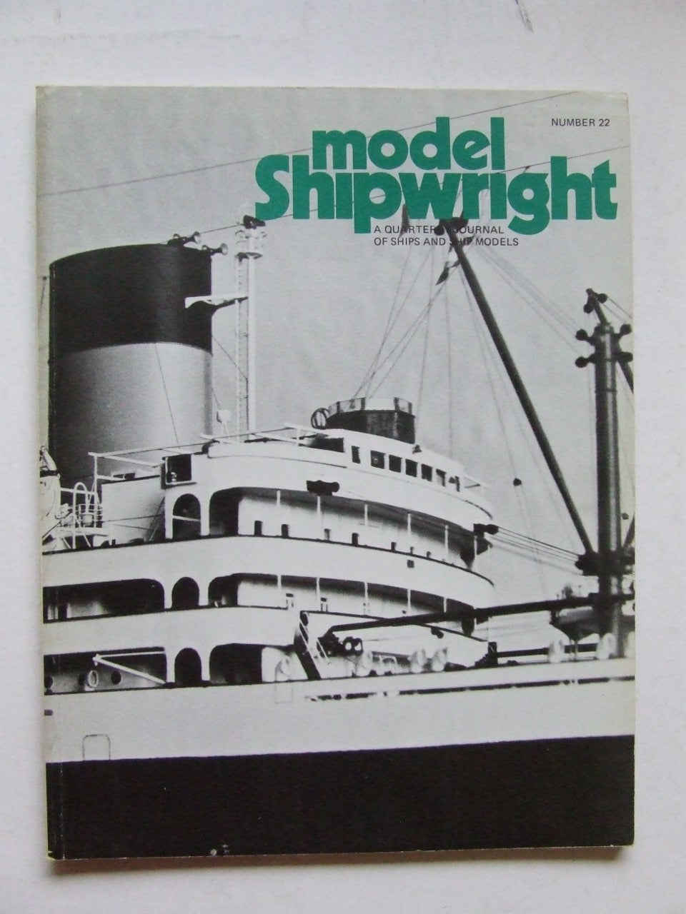 Model Shipwright.  number 22.  December 1977