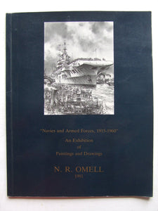 Navies and Armed Forces, 1915-1960, an exhibition of paintings and drawings