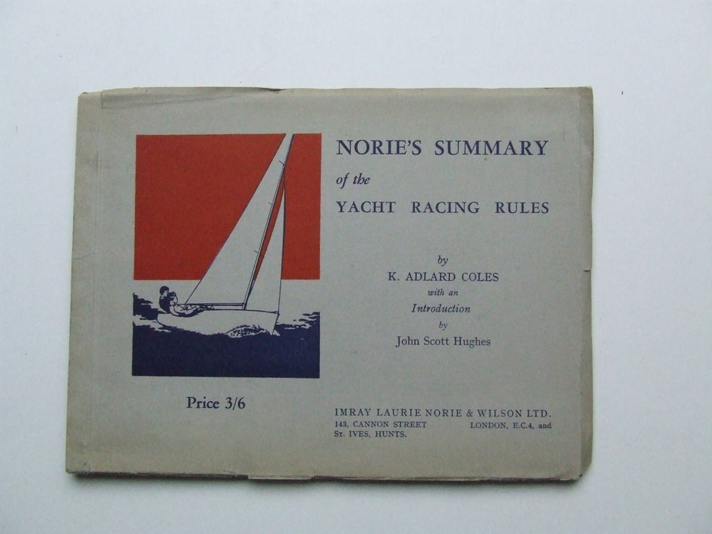 Norie's Summary of the Yacht Racing Rules