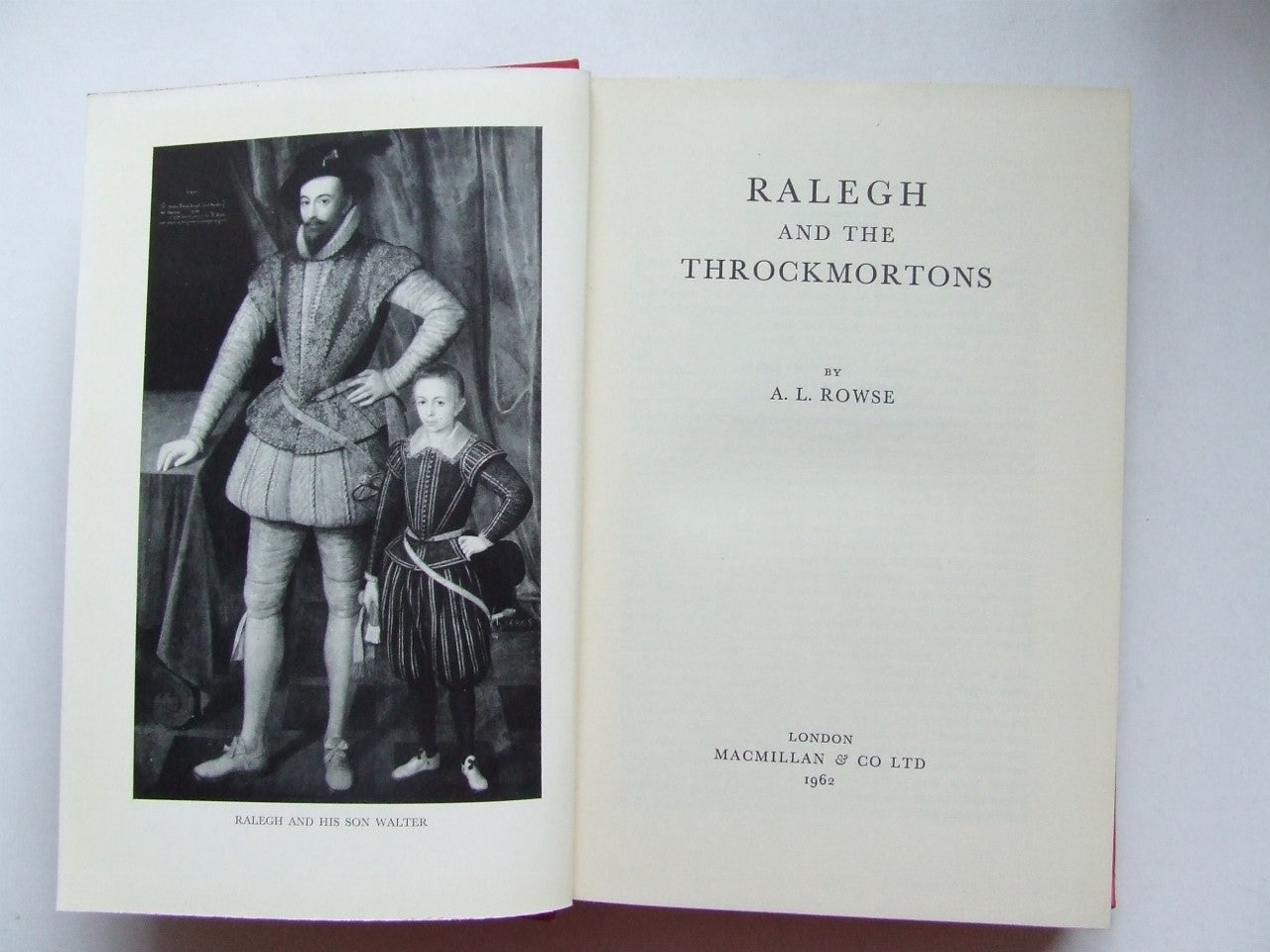 Ralegh and the Throckmortons