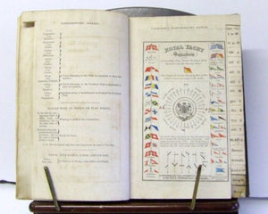 Royal Yacht Club Signal Book  ca.1831