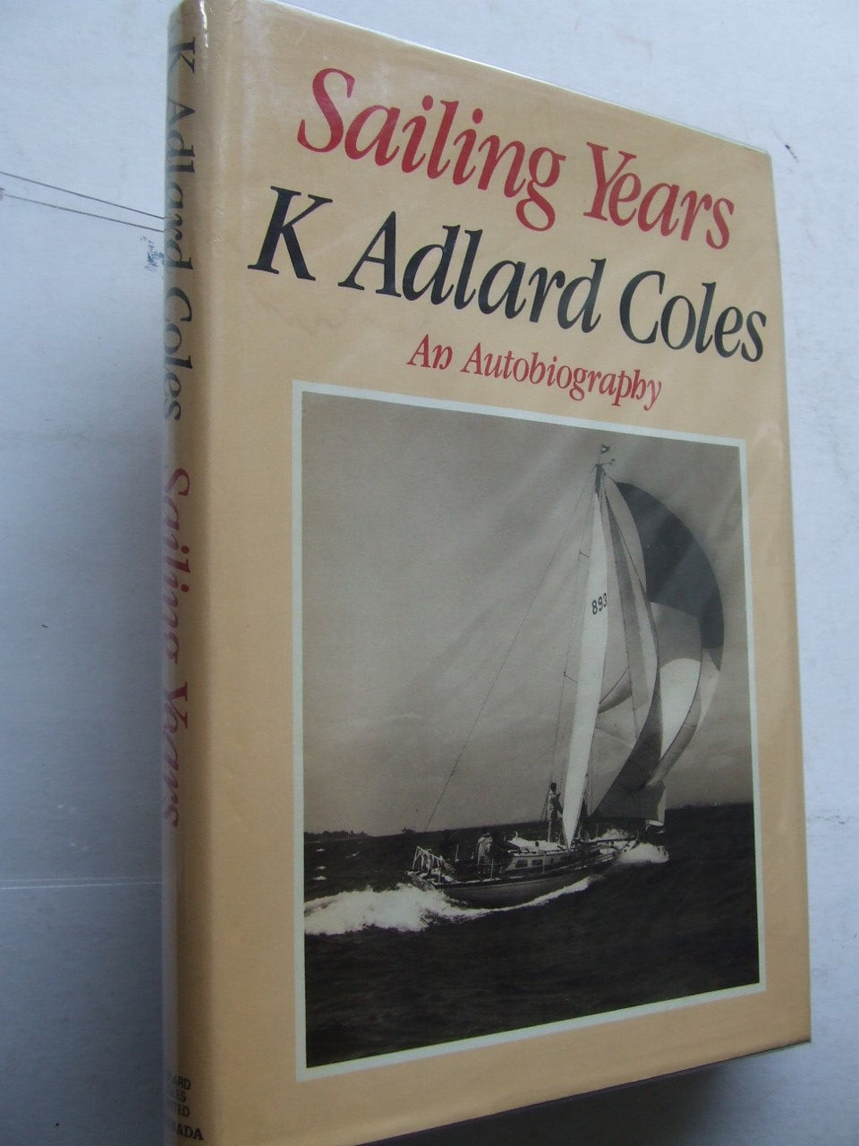 Sailing Years, an autobiography