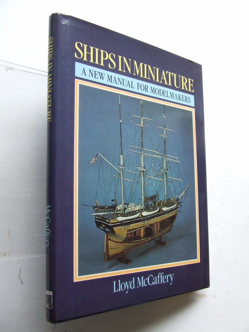 Ships in Miniature, a new manual for modelmakers
