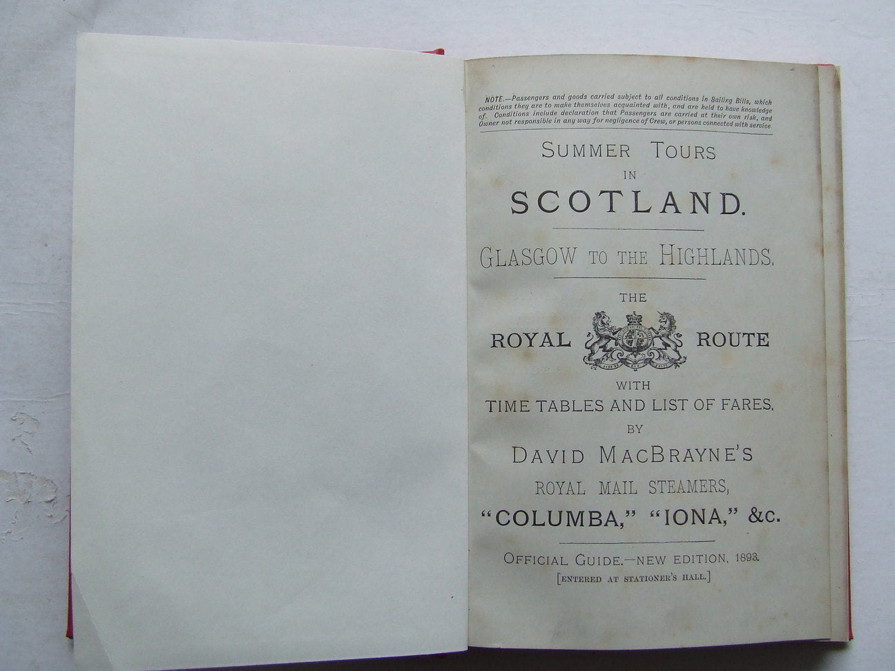 "Summer Tours in Scotland  -  Glasgow to the Highlands. The ""Royal Route"""