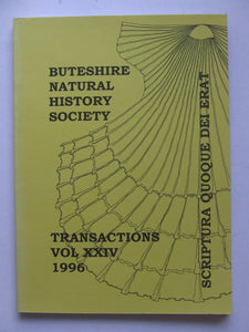 Transactions of the Buteshire Natural History Society, volume XXIV (24)