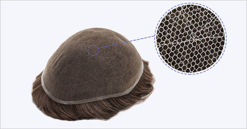French Lace Hair System | Men's Toupee Hair Pieces