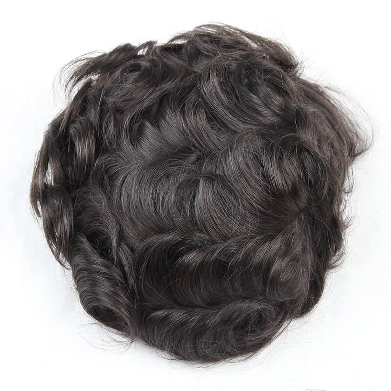 Remy Hair Fine Mono With Poly Perimeter And Fine Welded Mono Front