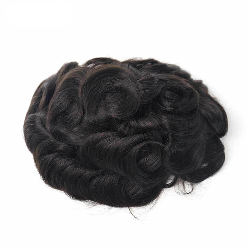Full French Lace Hair Systems Breathable & Durability