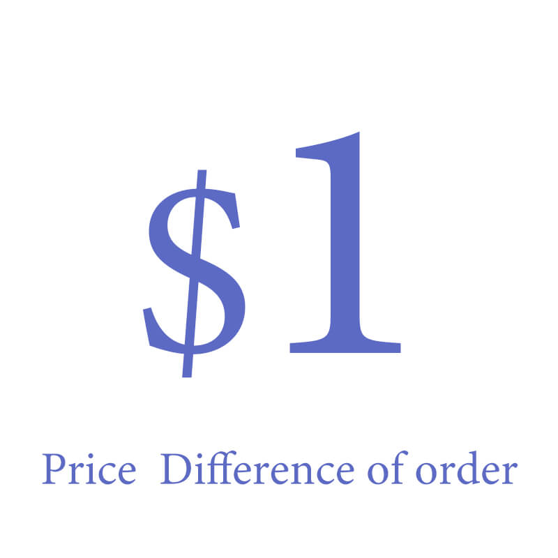 Price Difference Of Order