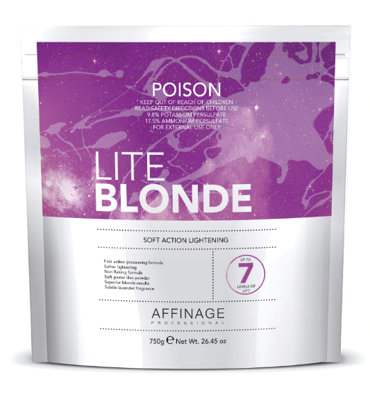 Affinage Lite Blonde Bleach 750g - Norris Hair & Beauty