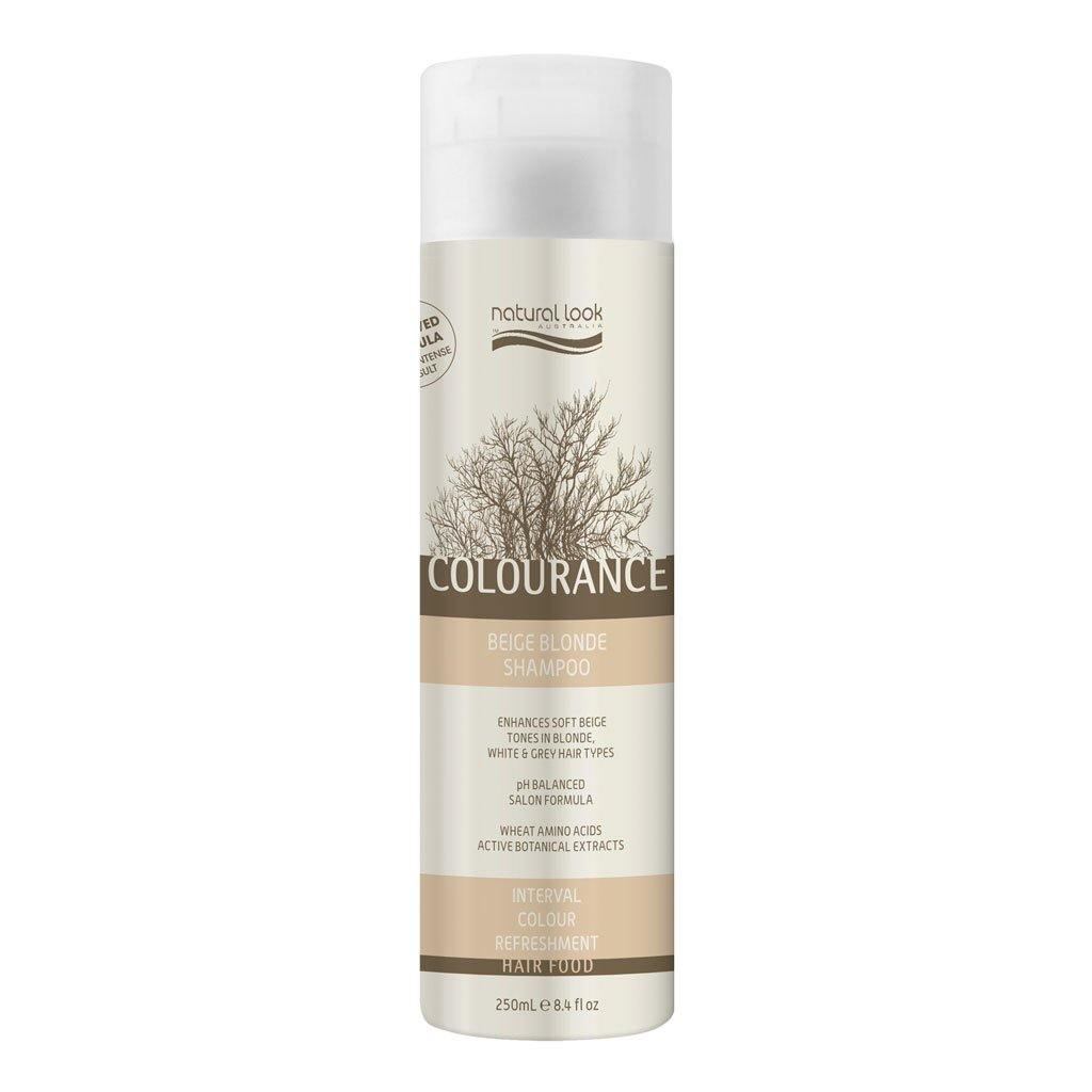 Natural Look Colourance Beige Blonde Shampoo 250ml - Norris Hair & Beauty