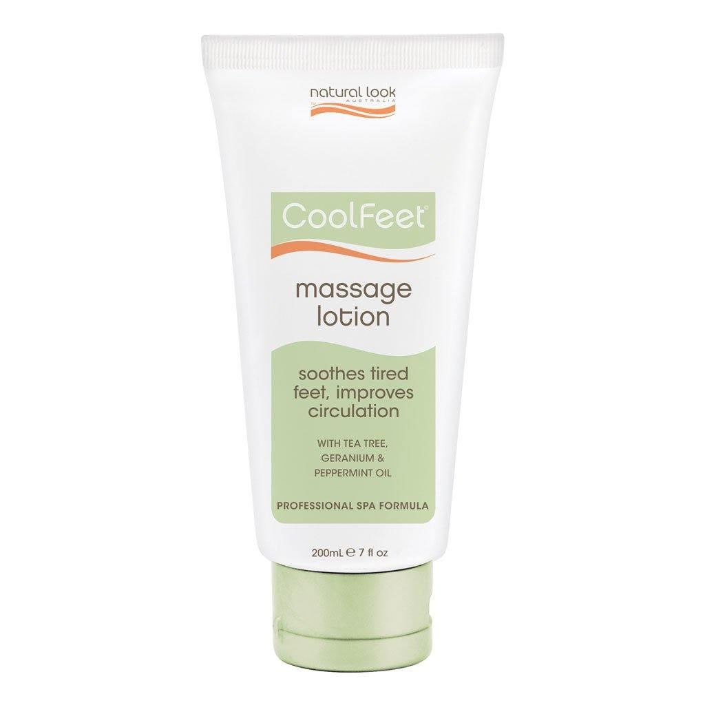 Natural Look Cool Feet Massage Lotion - Norris Hair & Beauty