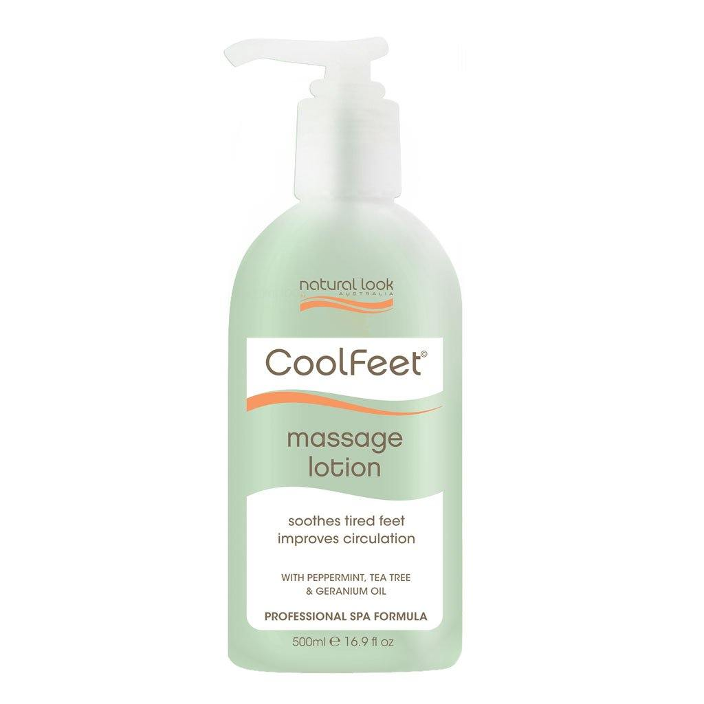 Natural Look Cool Feet Massage Lotion