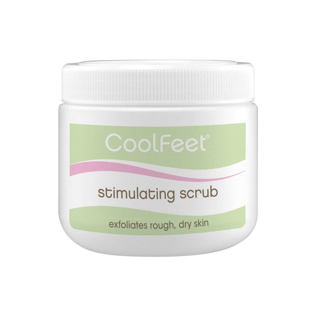 Natural Look Cool Feet Stimulating Scrub