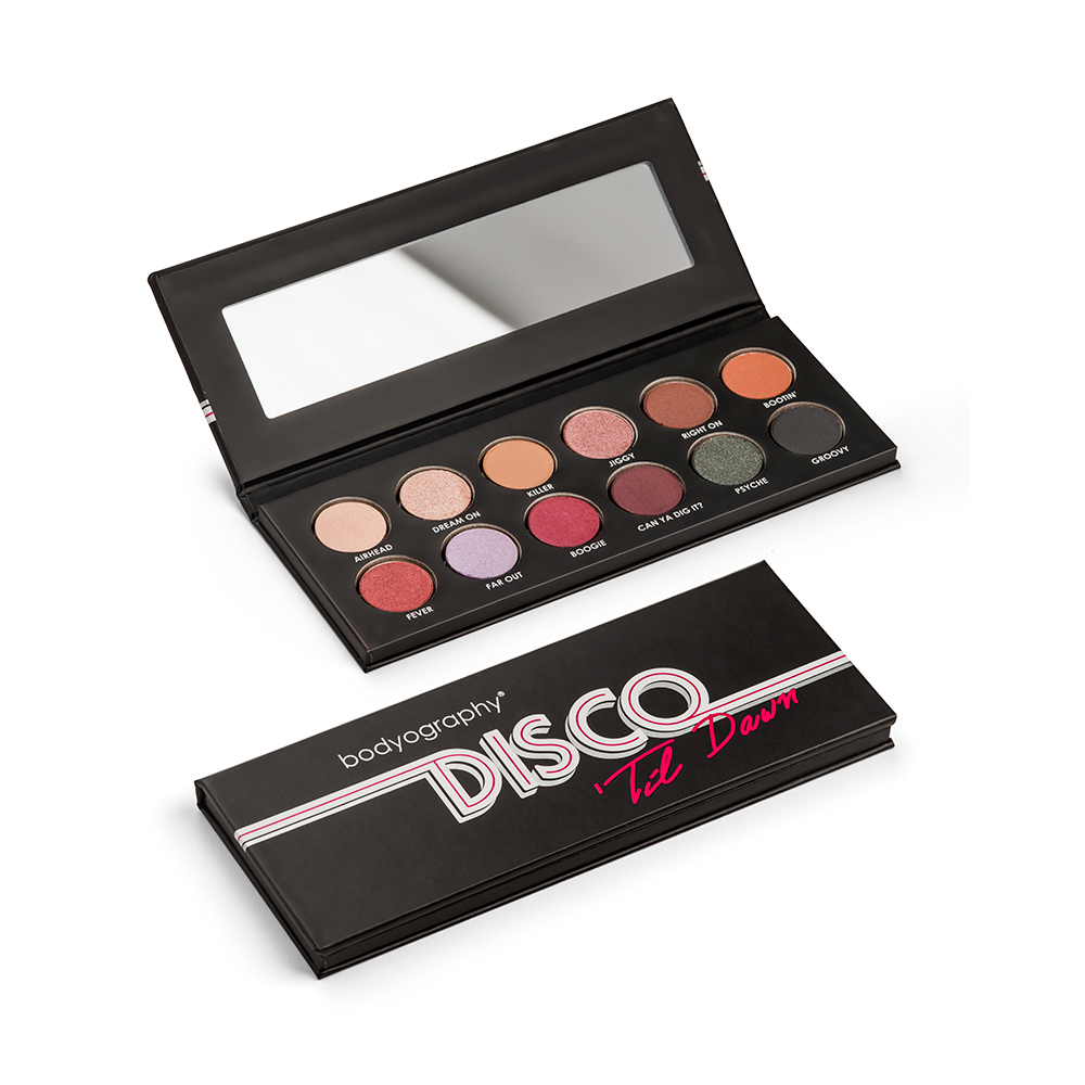 Bodyography Disco 'Til Dawn Eye Shadow Palette - Norris Hair & Beauty
