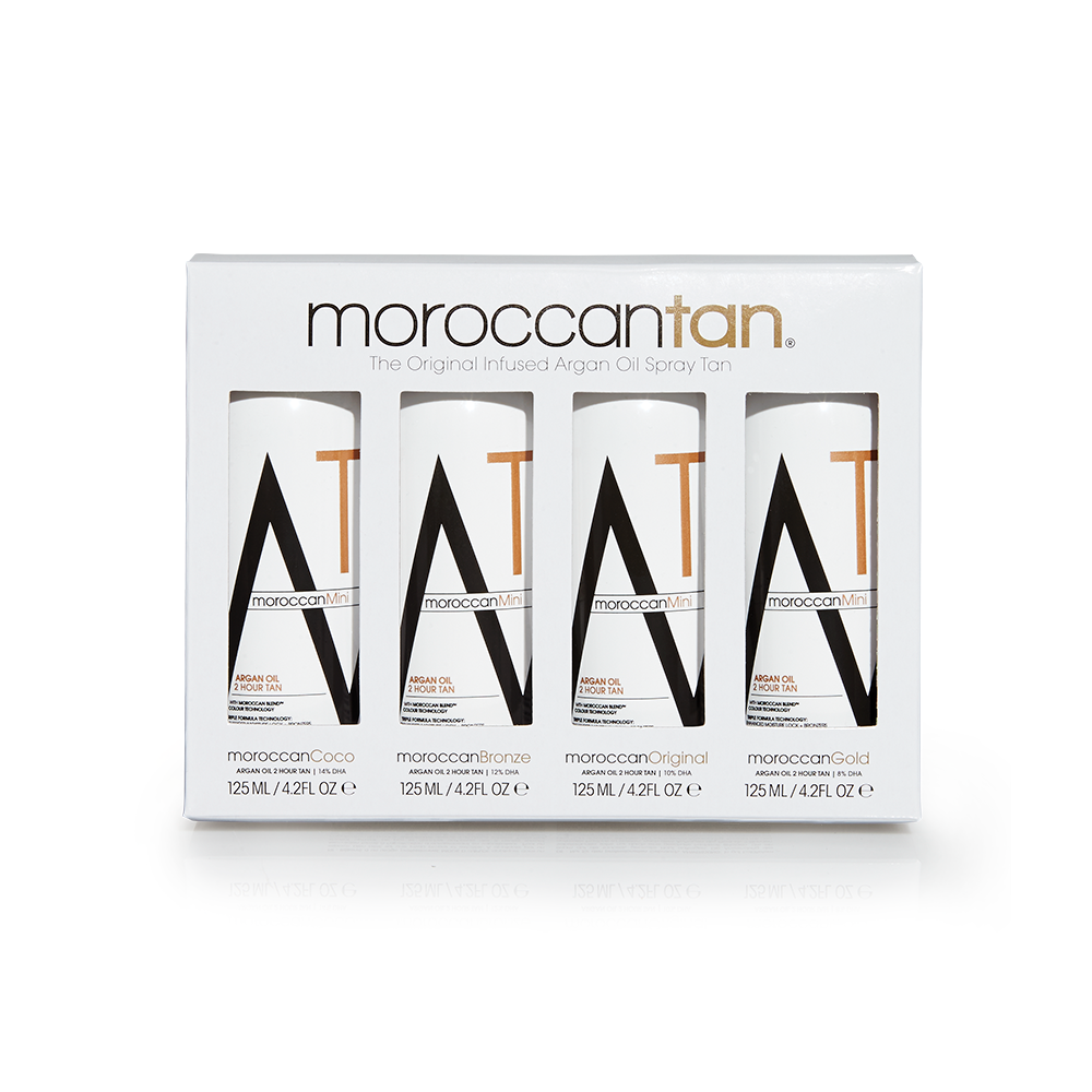 Moroccan Tan Original Collection Sample Pack 4 x 125ml