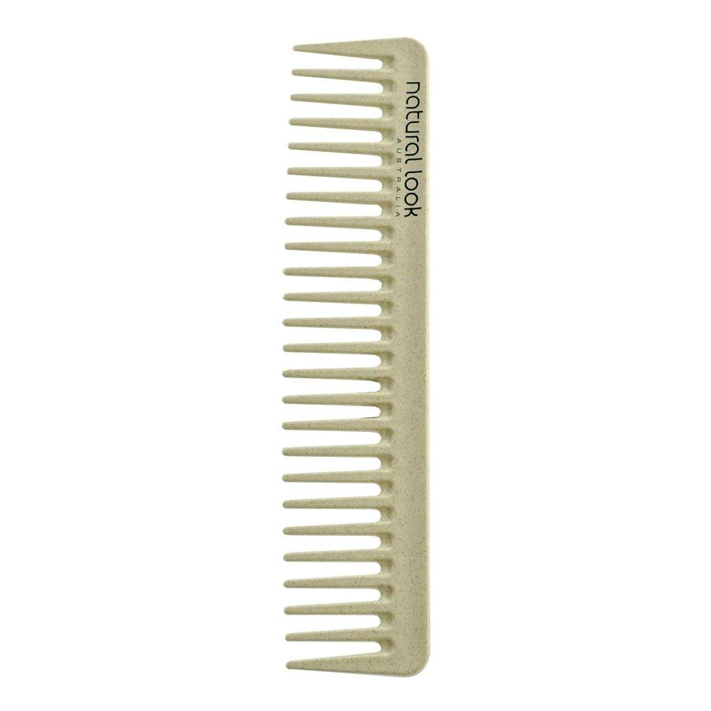 Natural Look Eco Friendly Tools Wide Tooth Comb Small - Norris Hair & Beauty