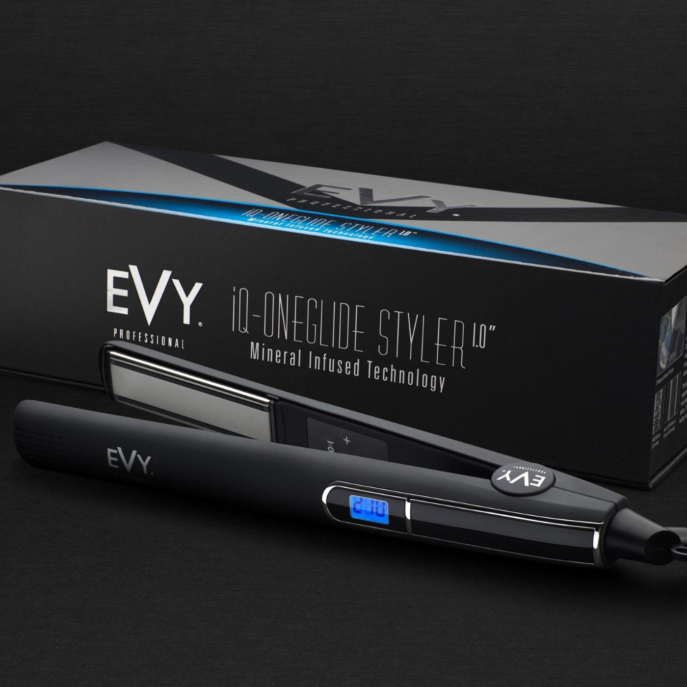 "EVY Professional iQ-OneGlide 1"" Iron"