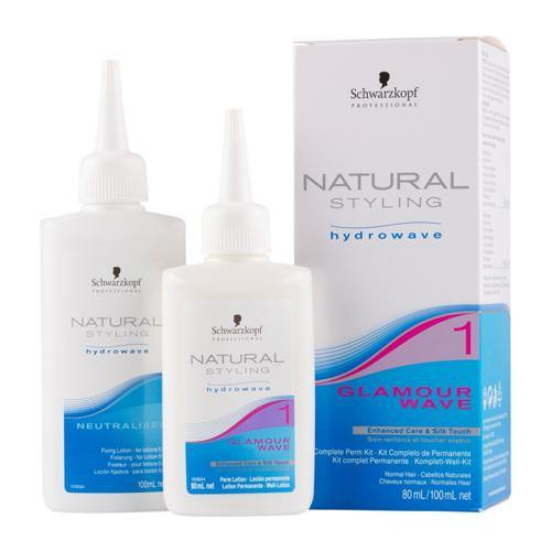 Schwarzkopf Natural Styling Hydrowave Glamour Wave Kits - Norris Hair & Beauty