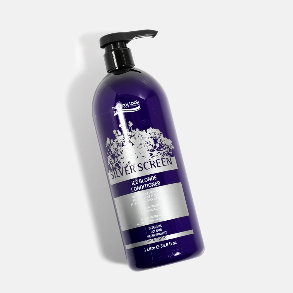 Natural Look Silver Screen Ice Blonde Conditioner - Norris Hair & Beauty