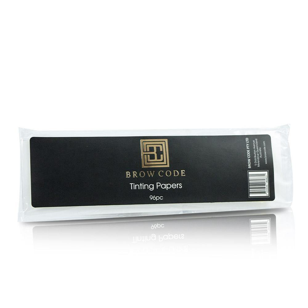 Brow Code Tinting Papers 96pcs