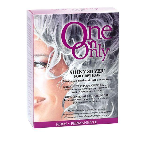 One n Only Shiny Silver Perm