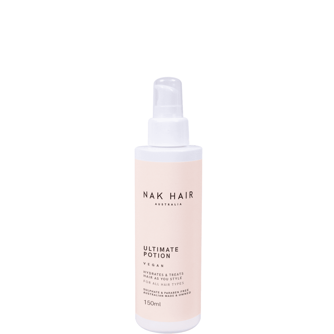 Nak Hair Ultimate Potion Styling Serum 150ml