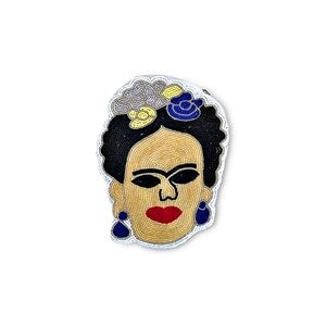 Clutch Frida bordado - Brocantia
