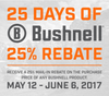 Bushnell's 25 Days of Bushnell Mail in Rebate Starts Today!