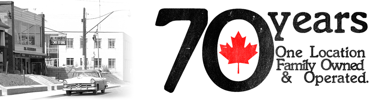 70 Years, Canadian Owned & Operated from One Location