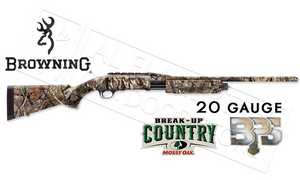 Browning BPS Rifled Deer Hunter 20 Gauge Shotgun Mossy Oak Break-Up Country