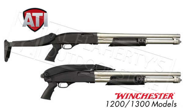 ATI #TFS0600 Shotforce Top-Folding Shotgun Stock for Mossberg, Remington, and Winchester Pump-Action