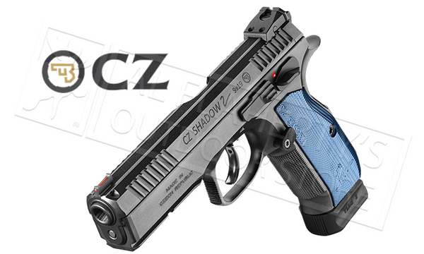 CZ Shadow 2 Steel-Frame 9mm Pistol