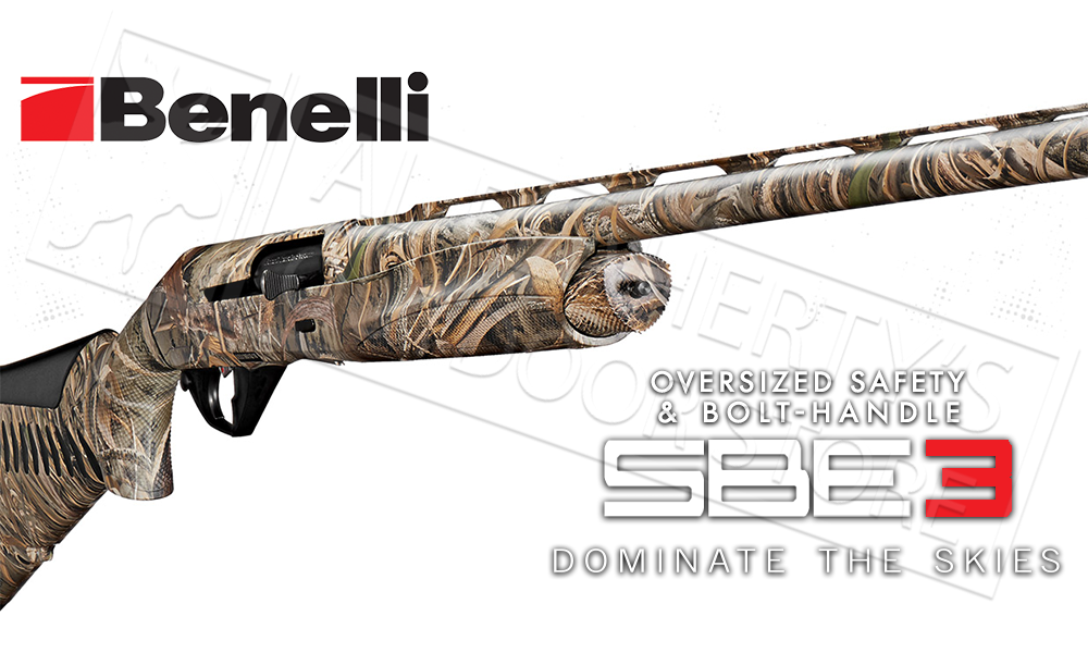 Benelli Super Black Eagle 3 Shotgun 12 Gauge 3 5