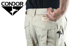 "Condor 608 Sentinel Tactical Pants, Khaki, 32""-38"""