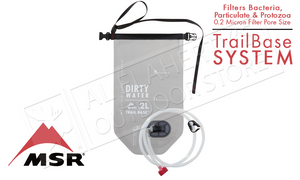 MSR Trail Base Water Filter Kit with 2L Bags and Handpump #10372