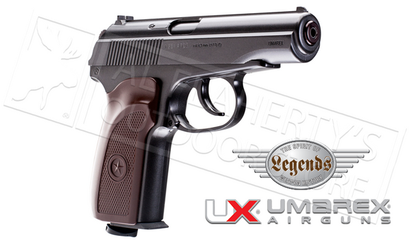 Umarex #2251811 Legends CCCP Makarov Ultra .177 BB with Blowback