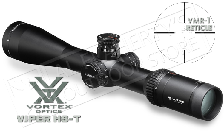 Vortex Viper HS-T Riflescope, 4-16x44mm with VMR-1 MOA Reticle #VHS-4309
